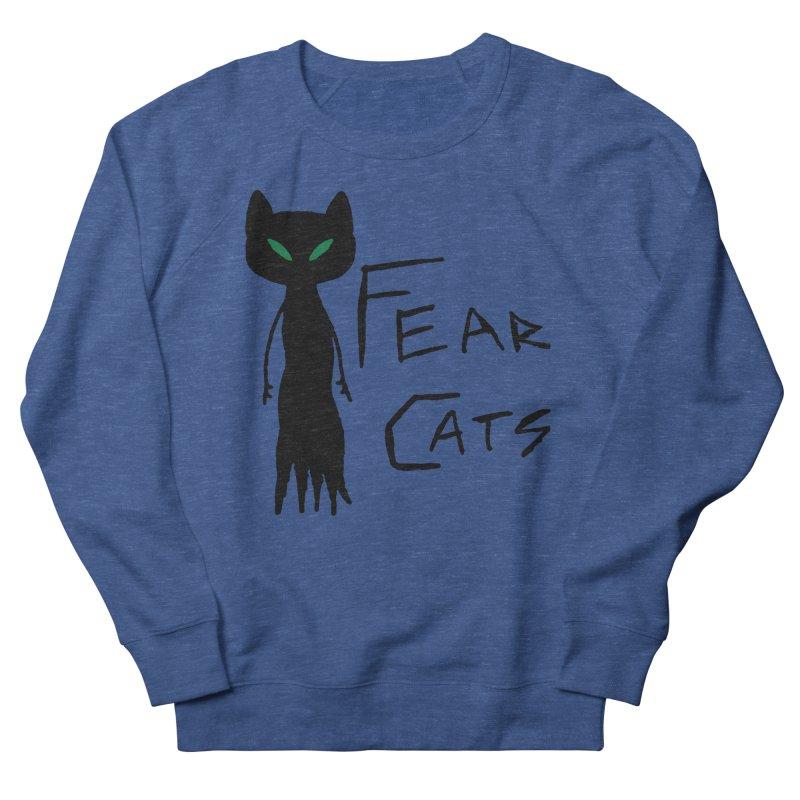 Fear Cats Men's Sweatshirt by The Little Fears