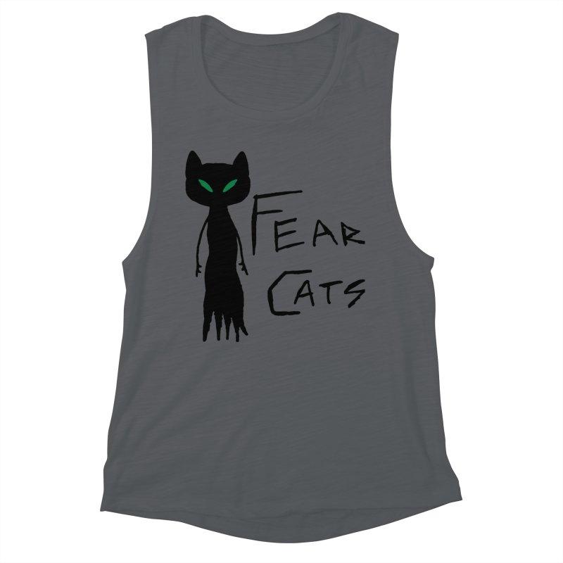 Fear Cats Women's Tank by The Little Fears