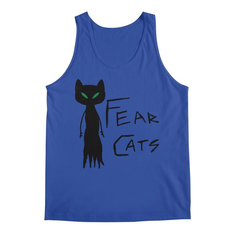 Fear Cats Men's Regular Tank by The Little Fears