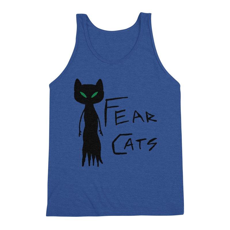 Fear Cats Men's Tank by The Little Fears