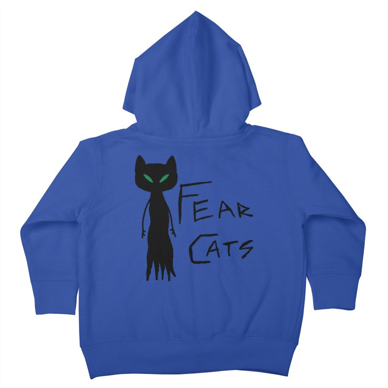 Fear Cats Kids Toddler Zip-Up Hoody by The Little Fears