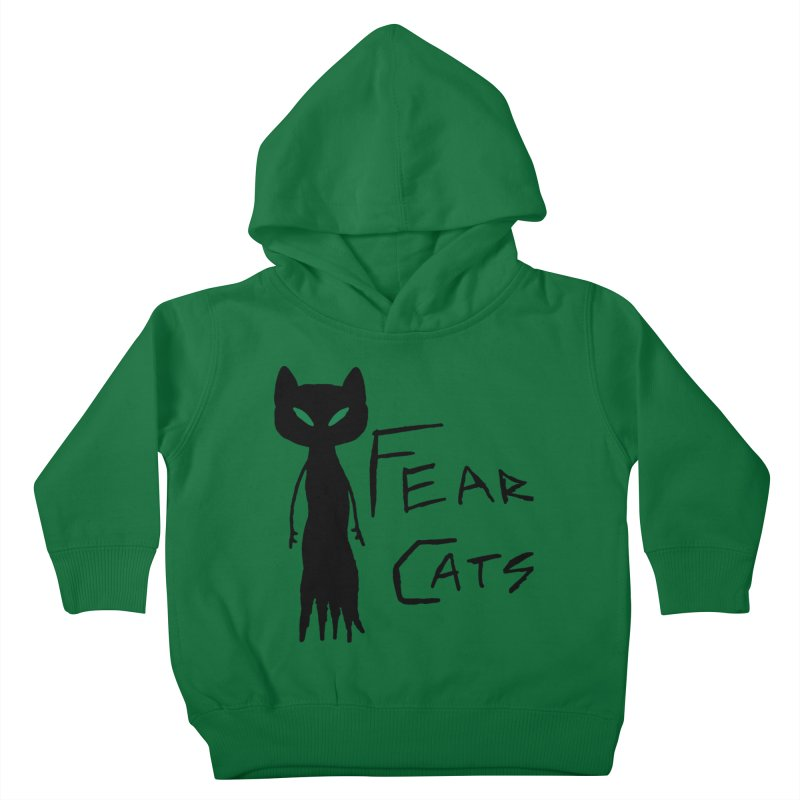 Fear Cats Kids Toddler Pullover Hoody by The Little Fears