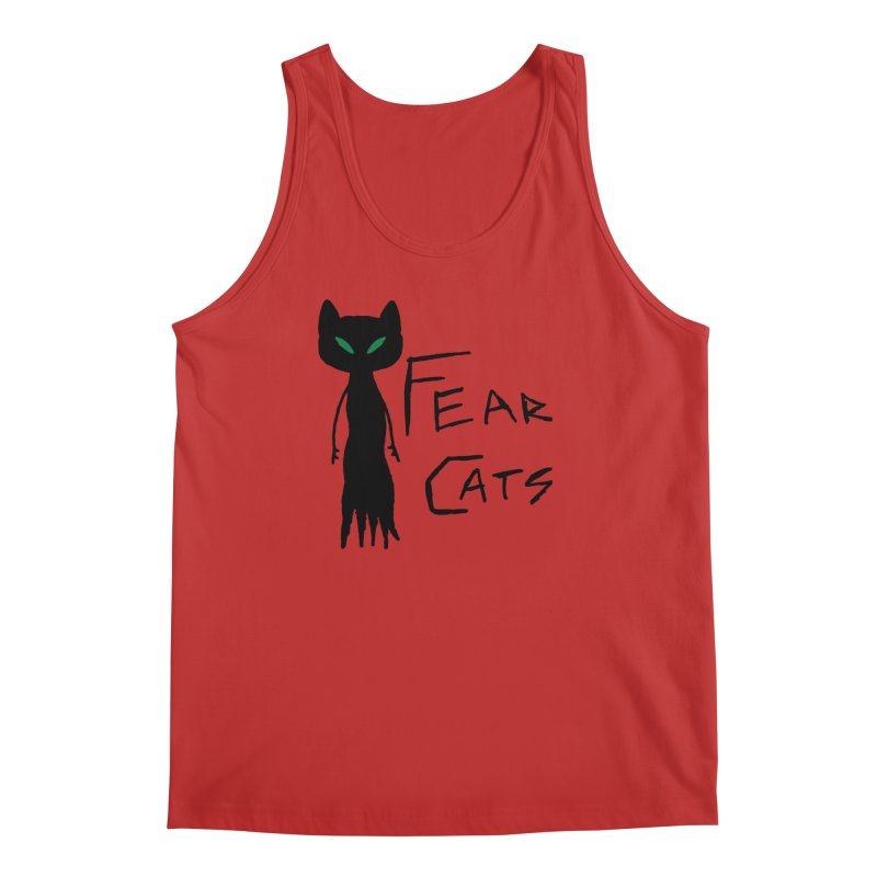 Fear Cats Men's Regular Tank by The Little Fears