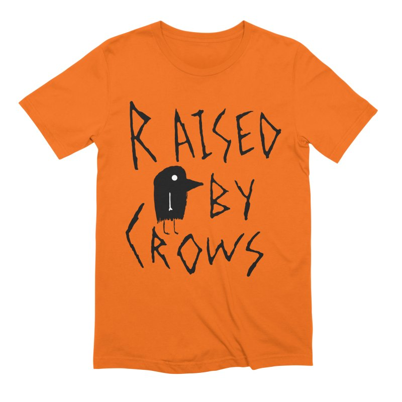Raised by Crows Men's Extra Soft T-Shirt by The Little Fears