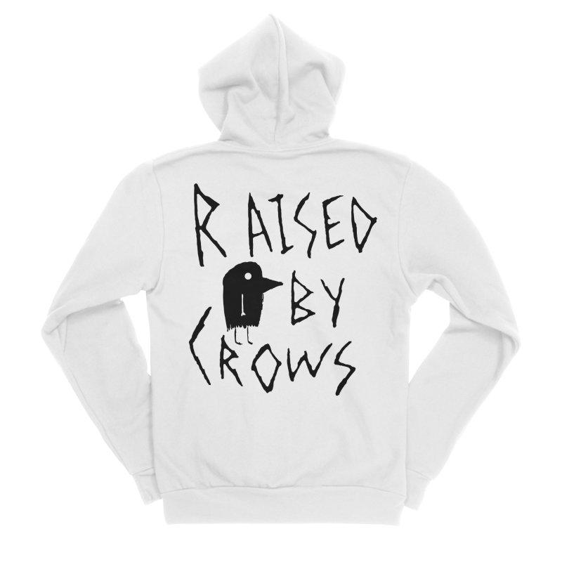 Raised by Crows Women's Sponge Fleece Zip-Up Hoody by The Little Fears