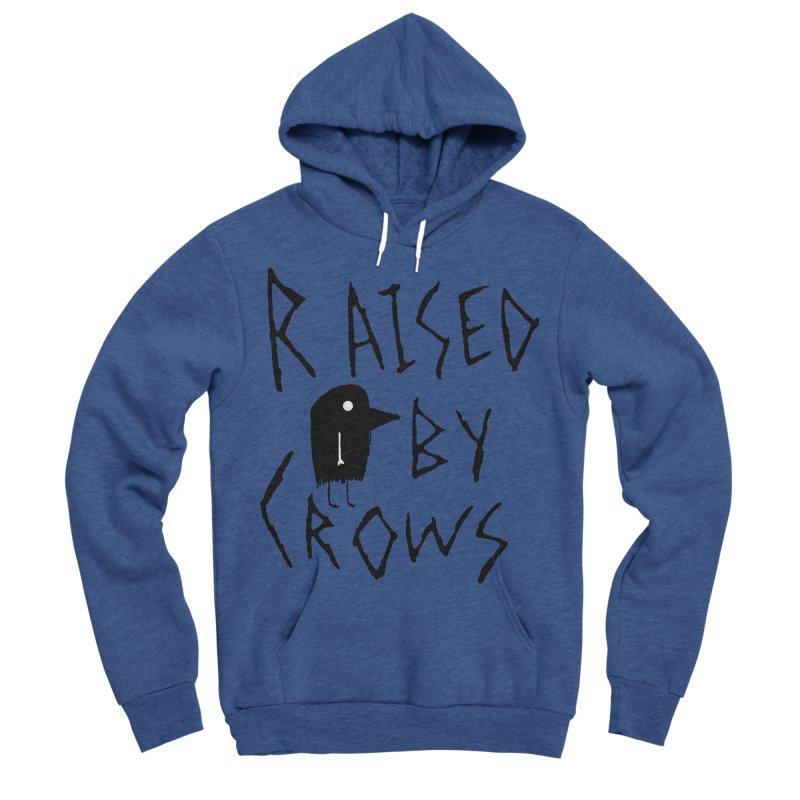 Raised by Crows Women's Sponge Fleece Pullover Hoody by The Little Fears