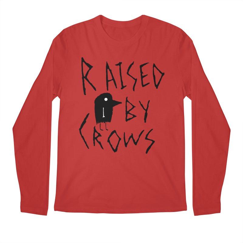 Raised by Crows Men's Regular Longsleeve T-Shirt by The Little Fears