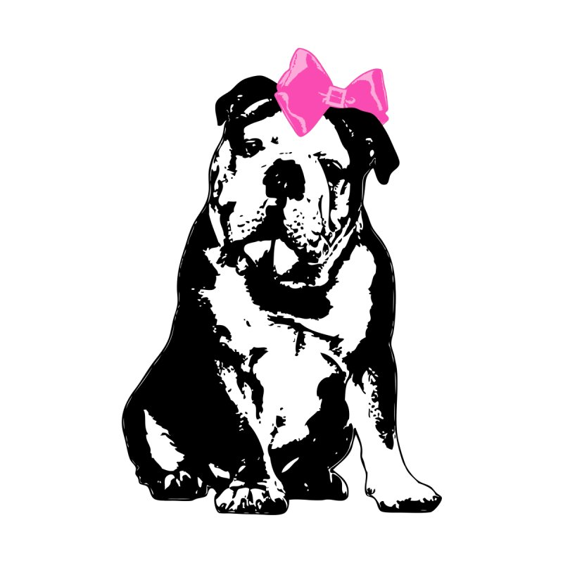 Betty Bulldog Men's T-Shirt by Little Miss Tyne's Artist Shop
