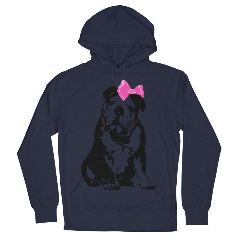 Betty Bulldog Men's Pullover Hoody by LittleMissTyne's Artist Shop