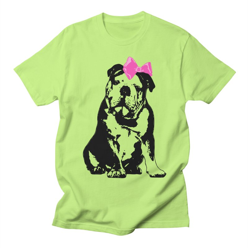 Betty Bulldog Men's T-Shirt by LittleMissTyne's Artist Shop