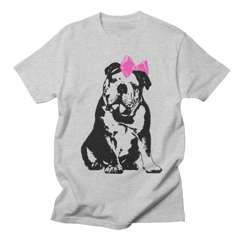 Betty Bulldog Men's T-Shirt by LittleMissTyne's Artist Shop