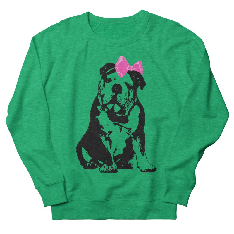 Betty Bulldog Women's Sweatshirt by LittleMissTyne's Artist Shop