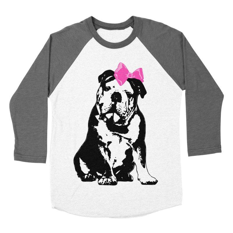 Betty Bulldog Women's Longsleeve T-Shirt by LittleMissTyne's Artist Shop