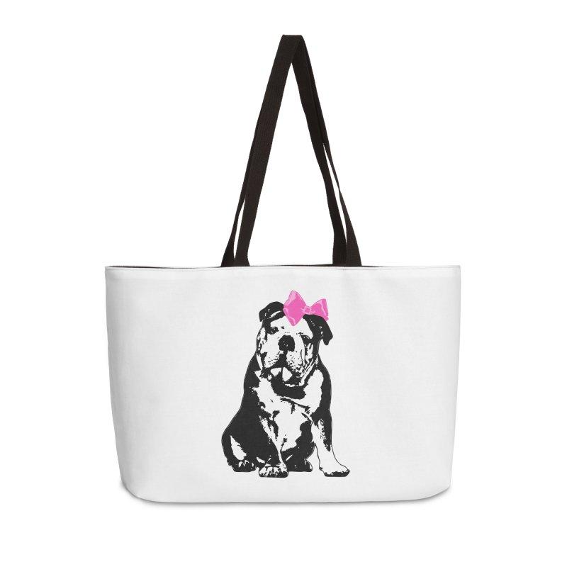 Betty Bulldog Accessories Bag by Little Miss Tyne's Artist Shop