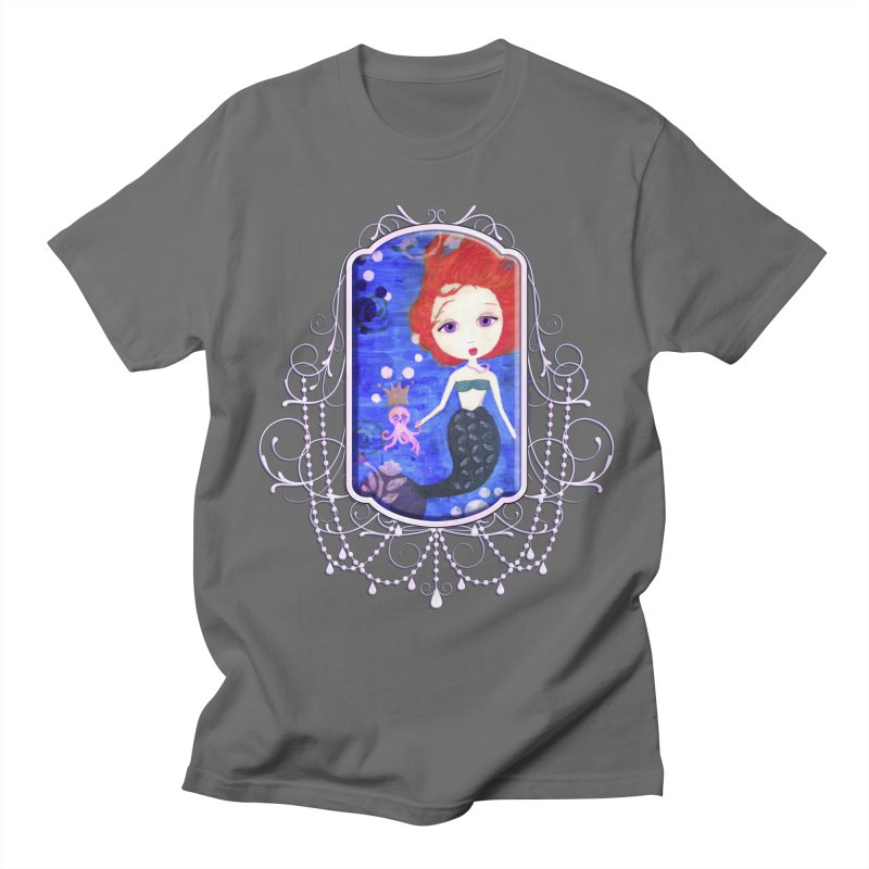 Her Royal Highness Men's T-Shirt by Little Miss Tyne's Artist Shop
