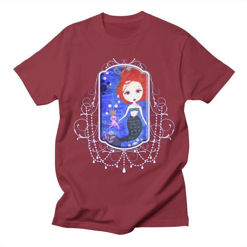 Her Royal Highness Men's T-Shirt by LittleMissTyne's Artist Shop