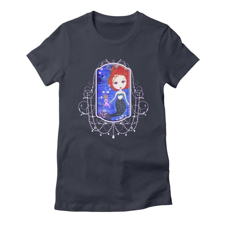 Her Royal Highness Women's T-Shirt by LittleMissTyne's Artist Shop
