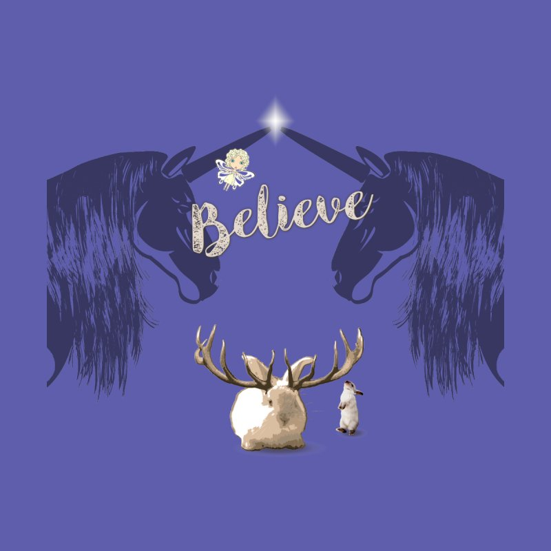 Believe In the Mythical - 1 Men's T-Shirt by Little Miss Tyne's Artist Shop