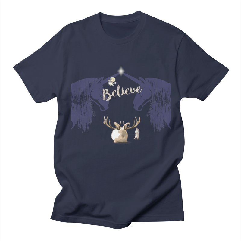 Believe In the Mythical - 1 Men's T-Shirt by LittleMissTyne's Artist Shop