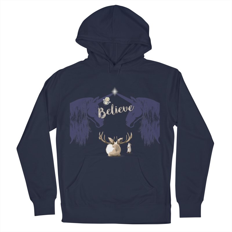Believe In the Mythical - 1 Men's Pullover Hoody by LittleMissTyne's Artist Shop