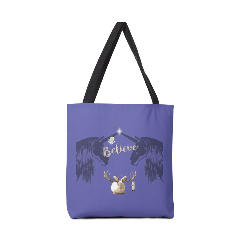 Believe In the Mythical - 1 Accessories Bag by LittleMissTyne's Artist Shop