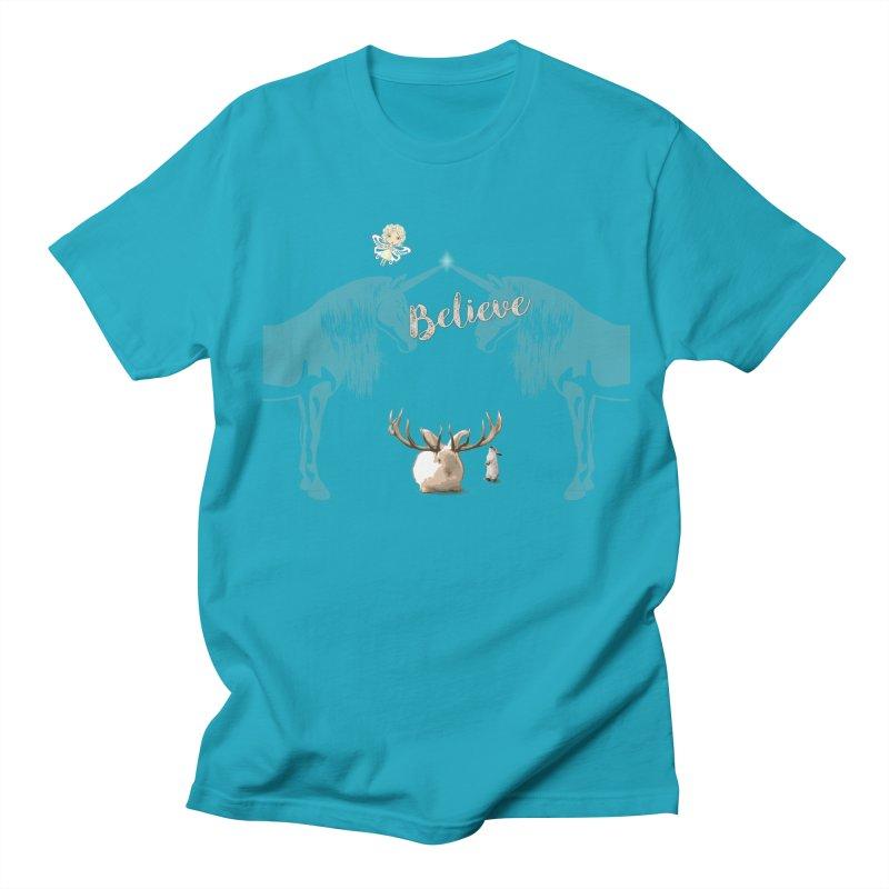 Believe In The Mythical - 2 Men's Regular T-Shirt by LittleMissTyne's Artist Shop
