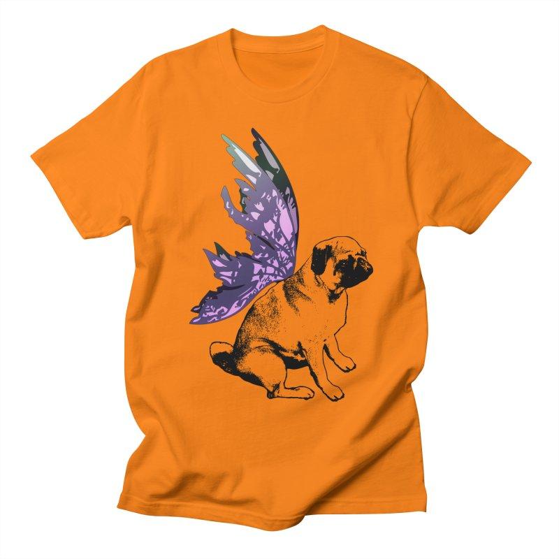 Pug Fairy Life Men's T-Shirt by LittleMissTyne's Artist Shop