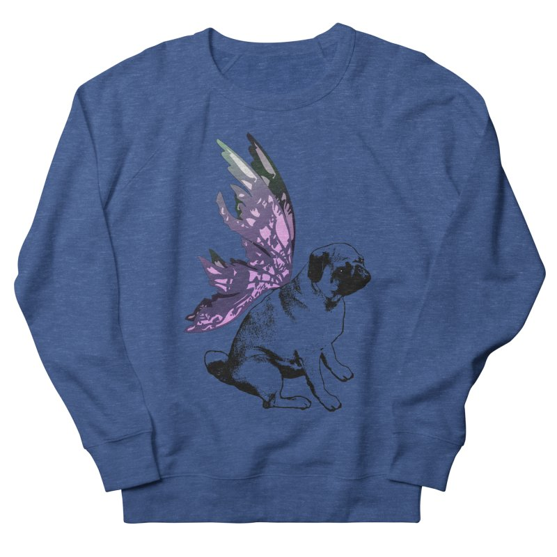 Pug Fairy Life Men's Sweatshirt by LittleMissTyne's Artist Shop