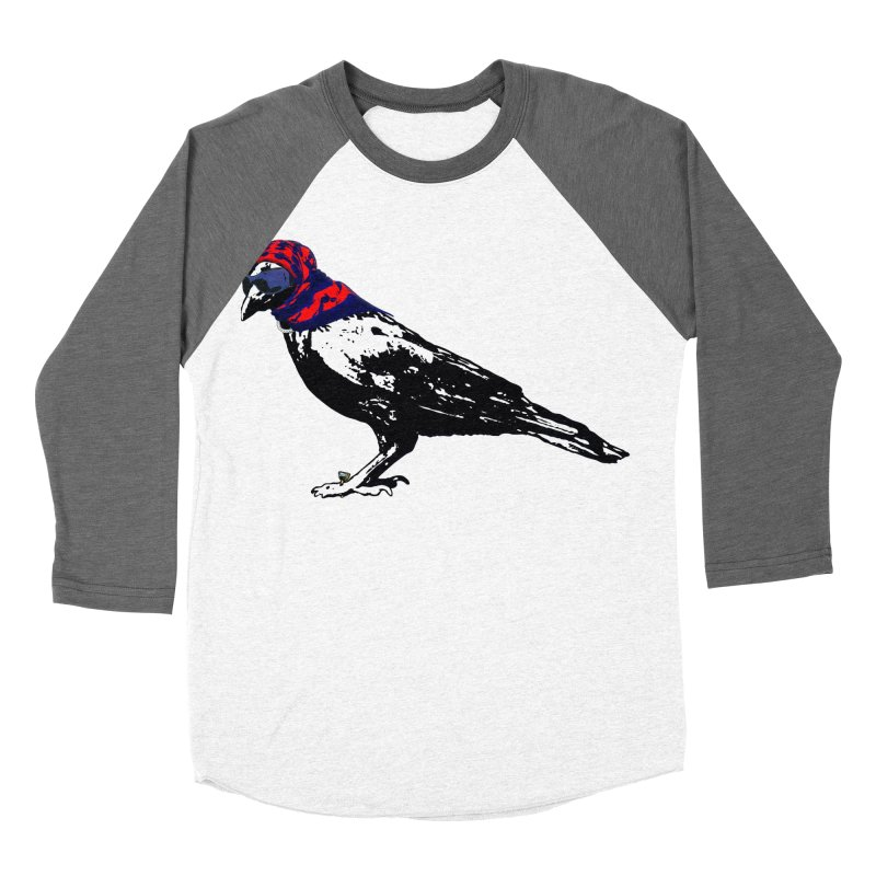 Here's To You Mrs. Raven Women's Baseball Triblend Longsleeve T-Shirt by LittleMissTyne's Artist Shop