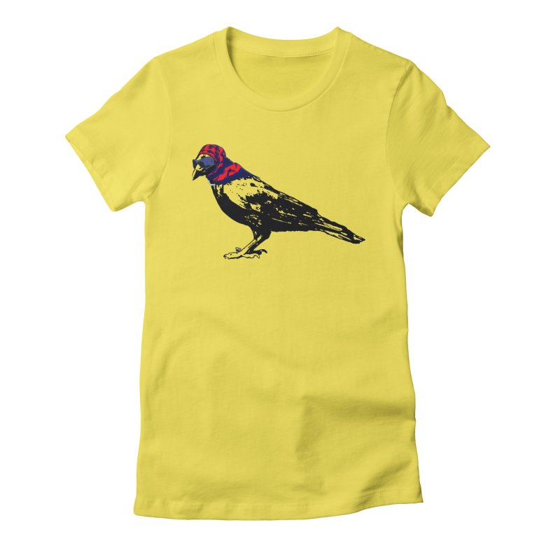 Here's To You Mrs. Raven Women's Fitted T-Shirt by LittleMissTyne's Artist Shop
