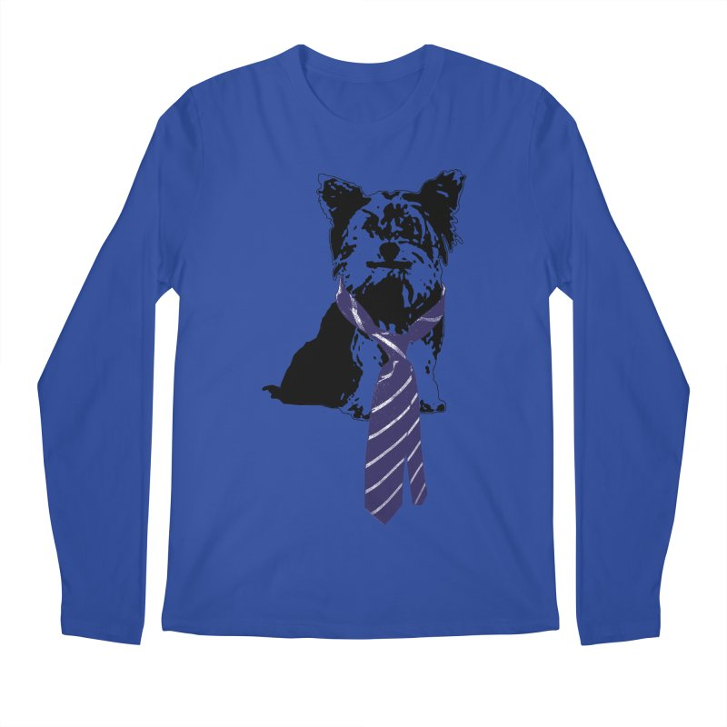 TGIF, Mr. Yorkie Men's Regular Longsleeve T-Shirt by LittleMissTyne's Artist Shop