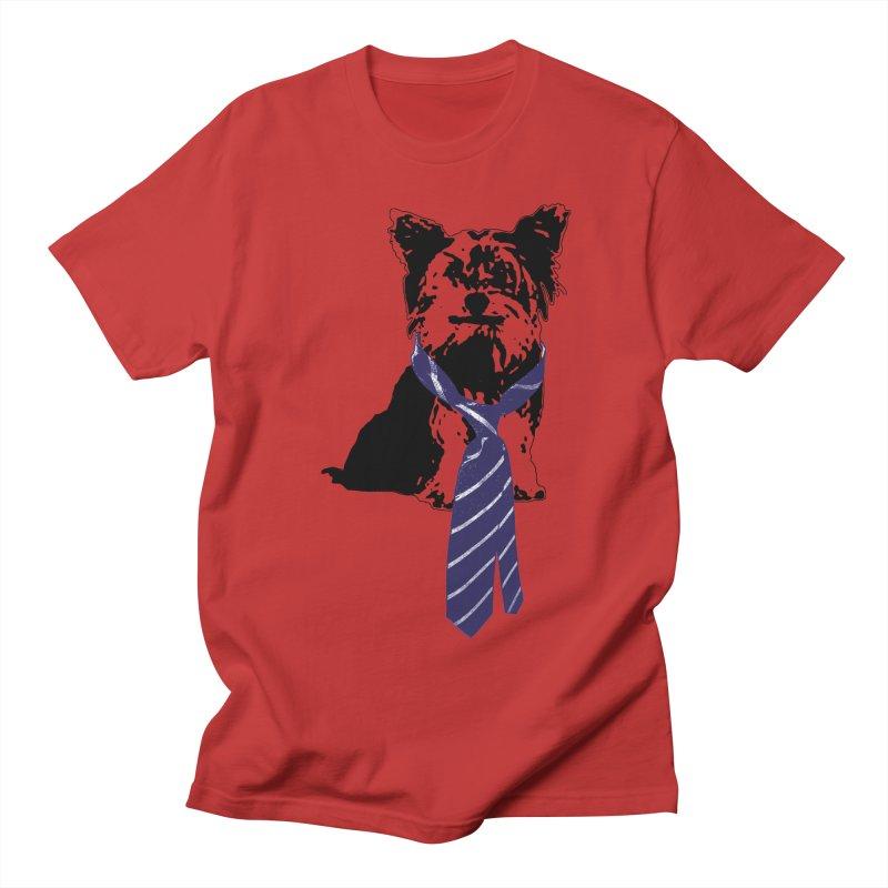 TGIF, Mr. Yorkie Men's Regular T-Shirt by LittleMissTyne's Artist Shop