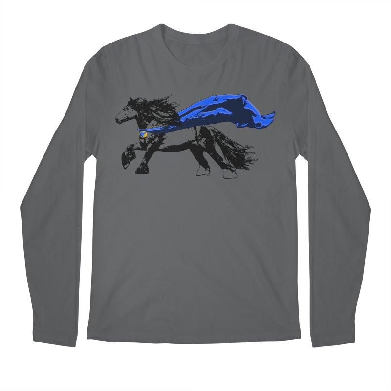 My Favorite Hero Men's Longsleeve T-Shirt by LittleMissTyne's Artist Shop