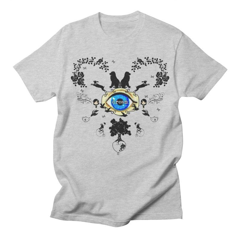I Dream In Color - Dark Silhouettes Men's T-Shirt by LittleMissTyne's Artist Shop