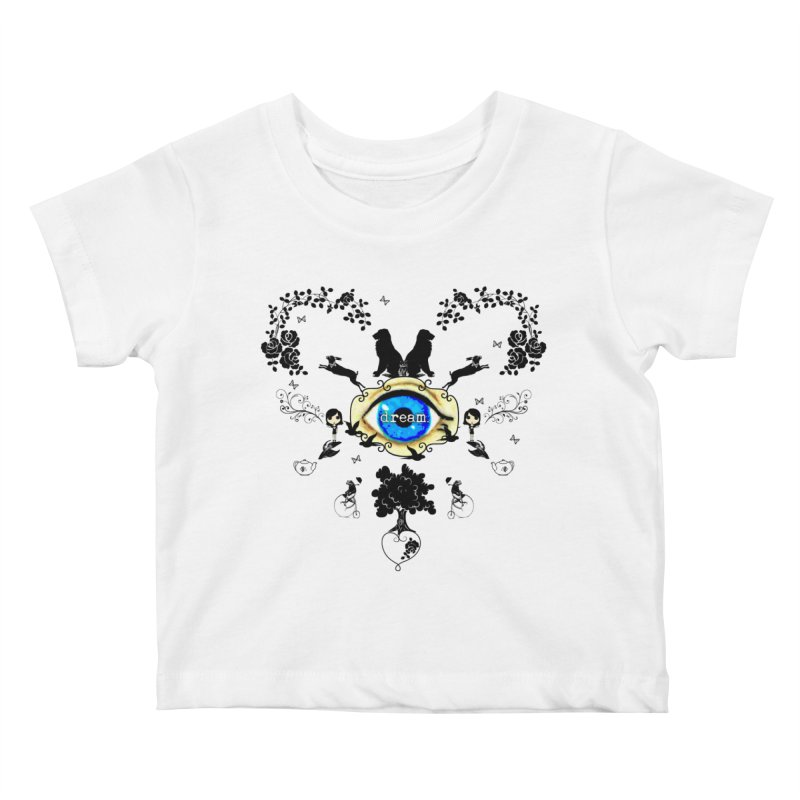 I Dream In Color - Dark Silhouettes Kids Baby T-Shirt by Little Miss Tyne's Artist Shop