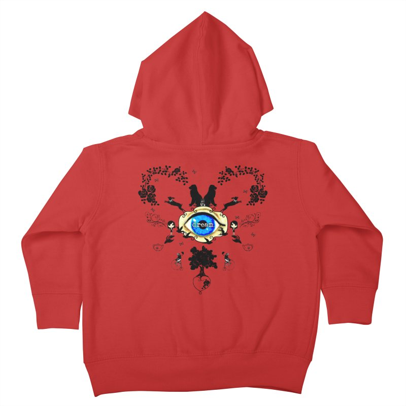 I Dream In Color - Dark Silhouettes Kids Toddler Zip-Up Hoody by Little Miss Tyne's Artist Shop