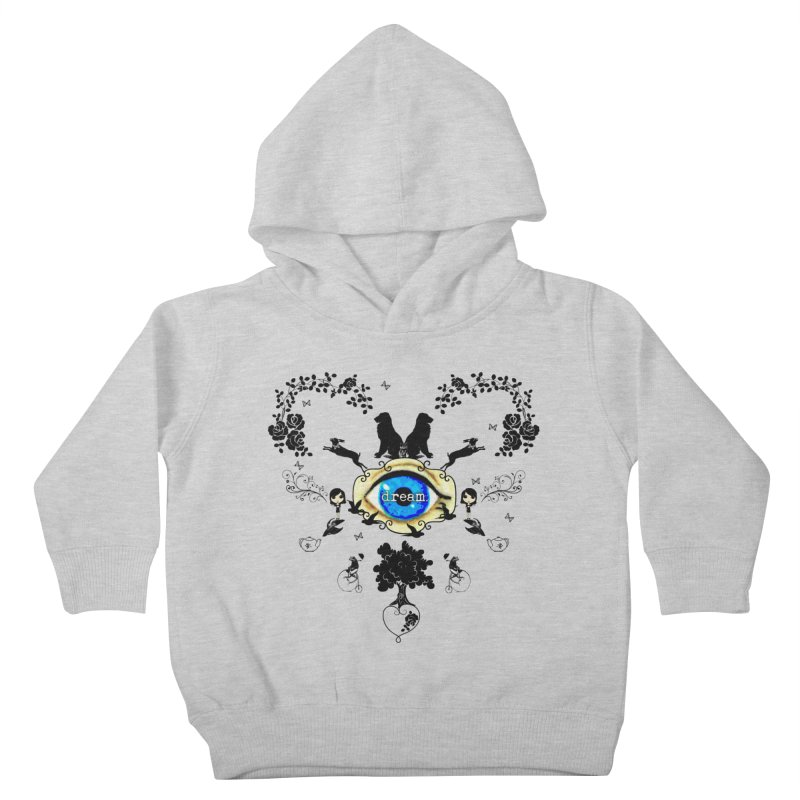 I Dream In Color - Dark Silhouettes Kids Toddler Pullover Hoody by LittleMissTyne's Artist Shop