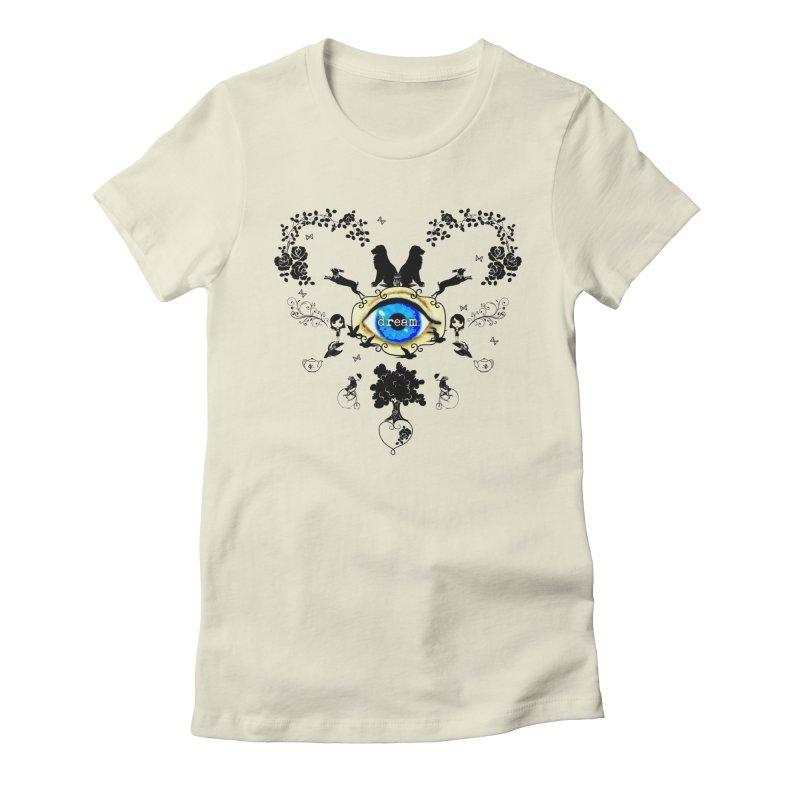I Dream In Color - Dark Silhouettes Women's T-Shirt by LittleMissTyne's Artist Shop