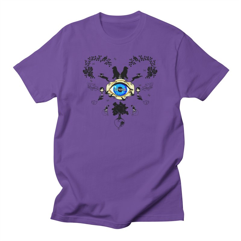 I Dream In Color - Dark Silhouettes Men's T-Shirt by Little Miss Tyne's Artist Shop