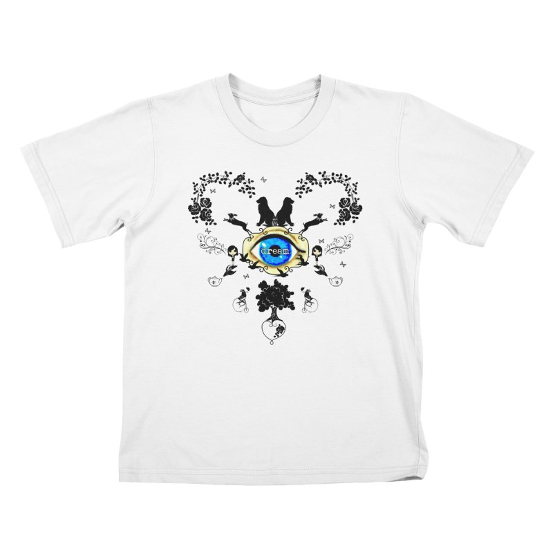 I Dream In Color - Dark Silhouettes Kids T-Shirt by Little Miss Tyne's Artist Shop