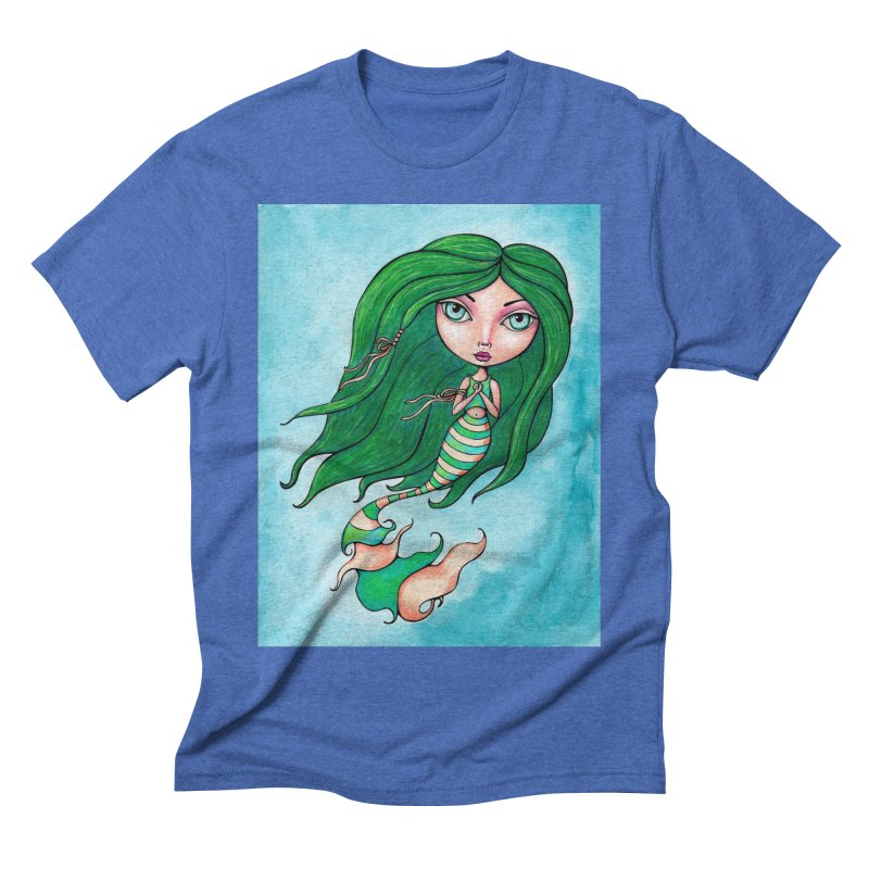 Mermaid Cutie 1 of 4 Men's T-Shirt by LittleMissTyne's Artist Shop