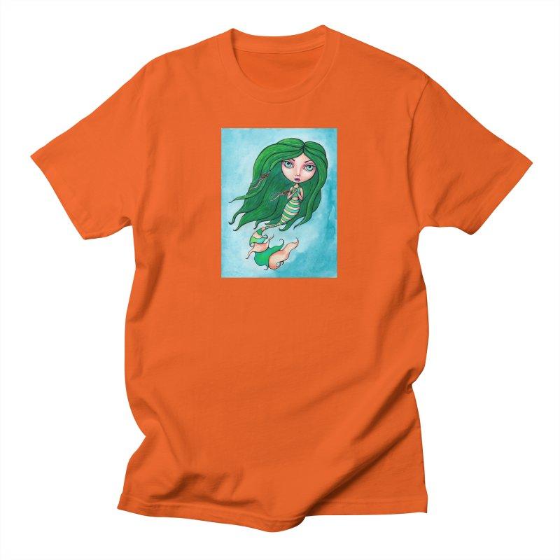 Mermaid Cutie 1 of 4 Men's T-Shirt by Little Miss Tyne's Artist Shop