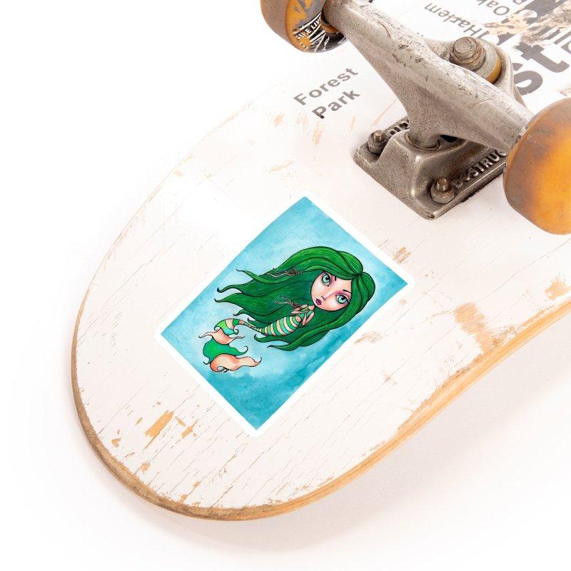 Mermaid Cutie 1 of 4 Accessories Sticker by Little Miss Tyne's Artist Shop