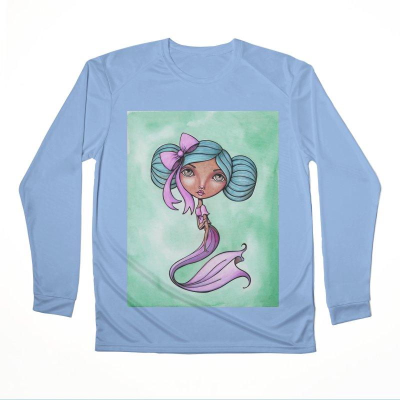 Mermaid Cutie 3 of 4 Men's Longsleeve T-Shirt by Little Miss Tyne's Artist Shop