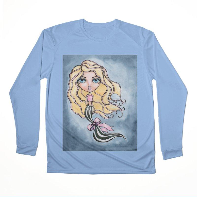 Mermaid Cutie 4 of 4 Men's Longsleeve T-Shirt by Little Miss Tyne's Artist Shop