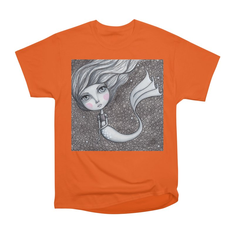 Doodle Mermaid 1 of 4 Men's T-Shirt by Little Miss Tyne's Artist Shop