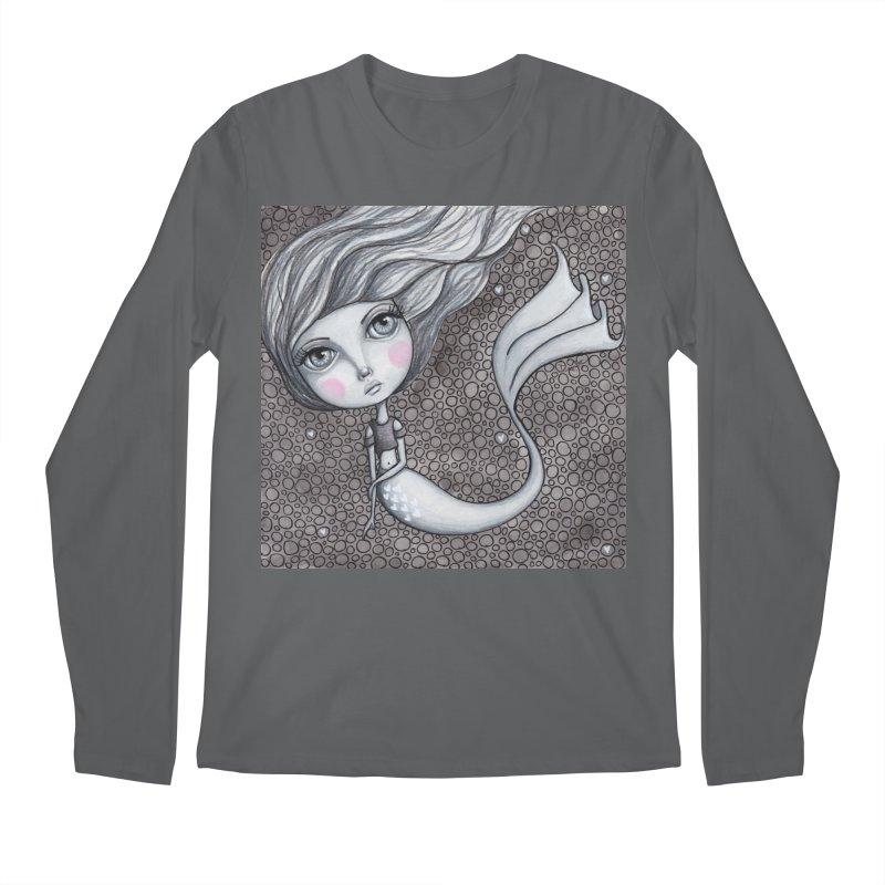 Doodle Mermaid 1 of 4 Men's Longsleeve T-Shirt by Little Miss Tyne's Artist Shop