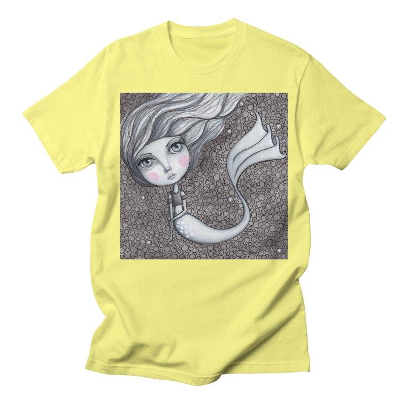 Doodle Mermaid 1 of 4 Men's T-Shirt by Little Miss Tyne's Artist Shop