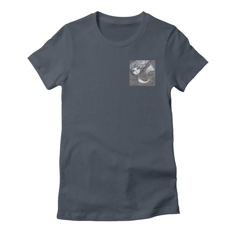 Doodle Mermaid 1 of 4 Women's T-Shirt by Little Miss Tyne's Artist Shop