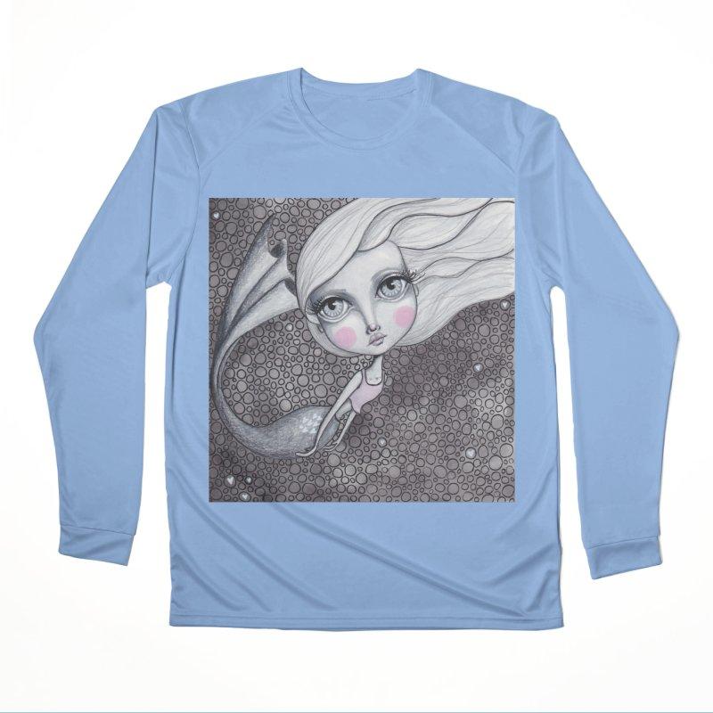 Doodle Mermaid 2 of 4 Men's Longsleeve T-Shirt by Little Miss Tyne's Artist Shop